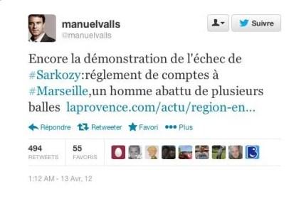 tweet Valls