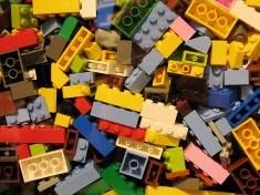 Briques de Lego (Crédits Benjamin Esham Licence Creative Commons)