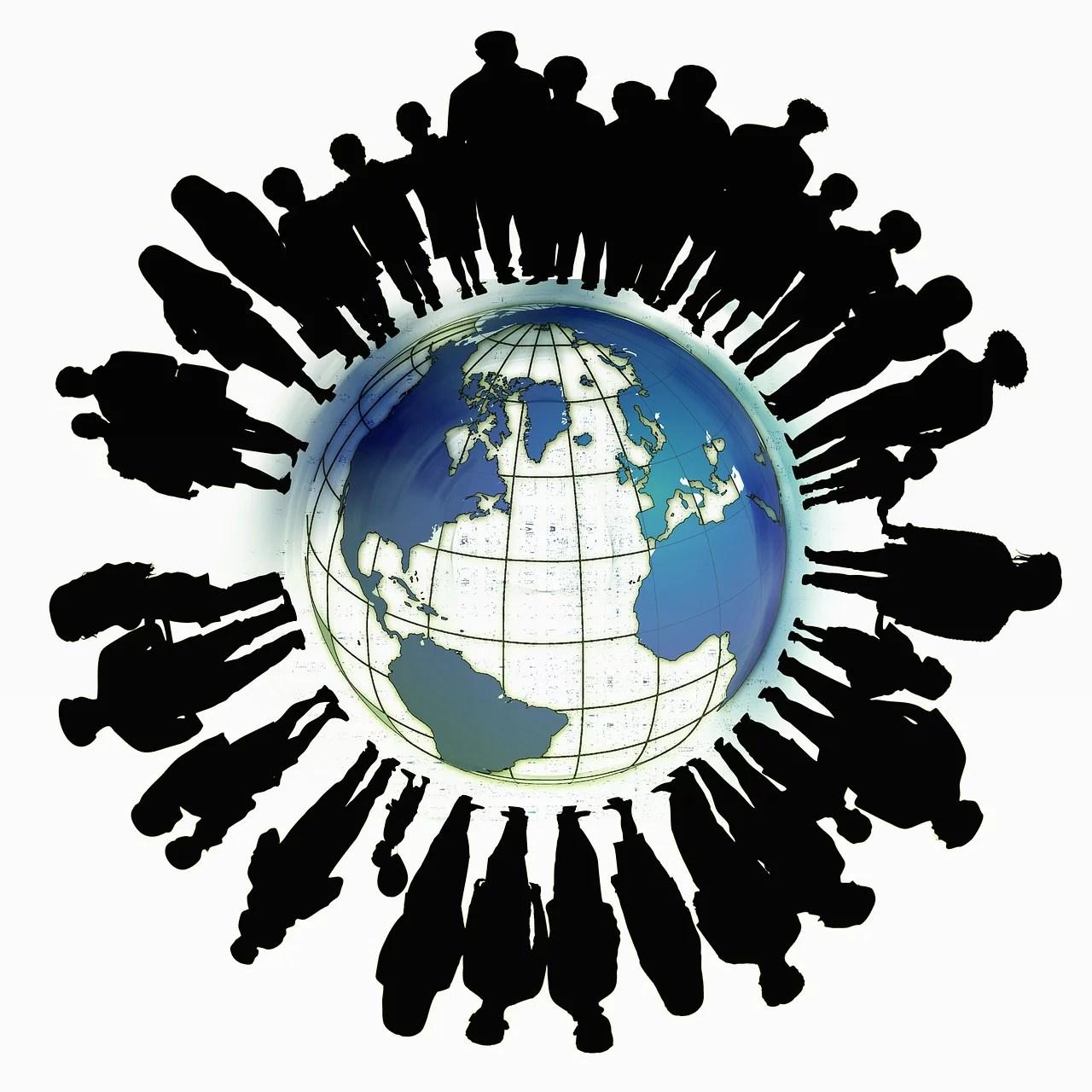 Mondialisation - Immigration (Public Domain)