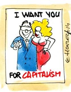 Capitalisme (Crédits : René Le Honzec/Contrepoints.org, licence CC-BY 2.0)
