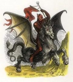diable (Image libre de droits)