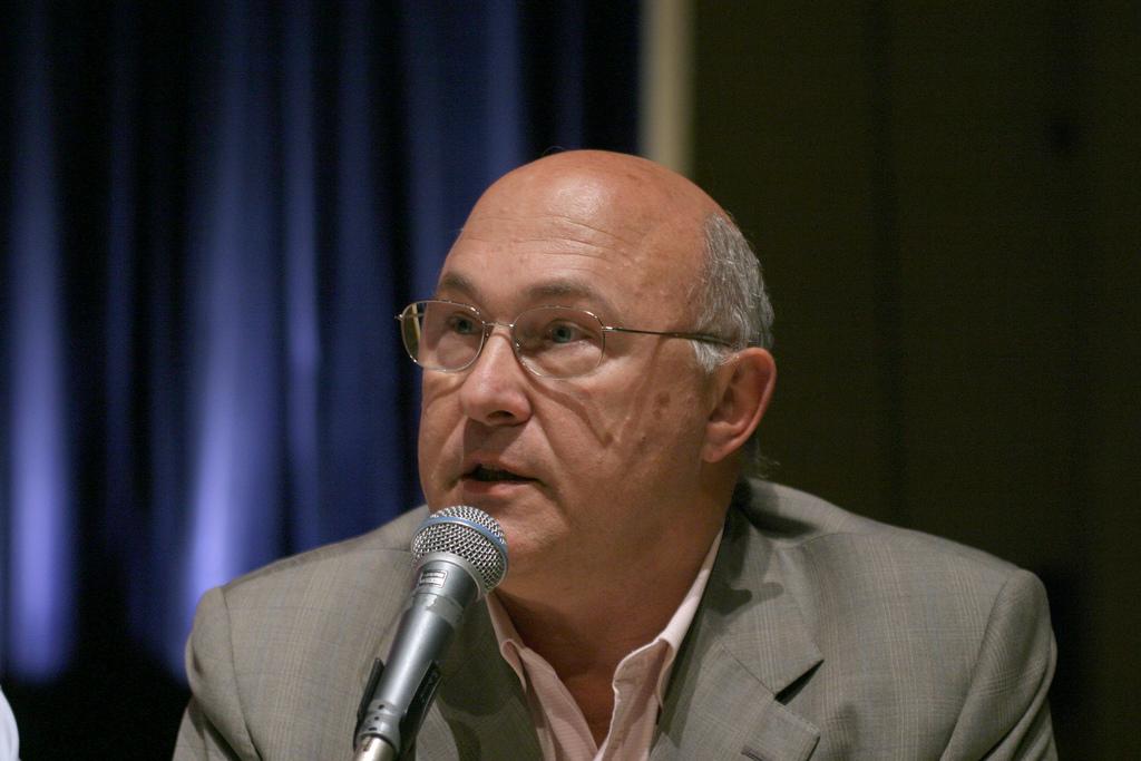 Michel Sapin (Crédits Parti Socialiste, image libre de droits)
