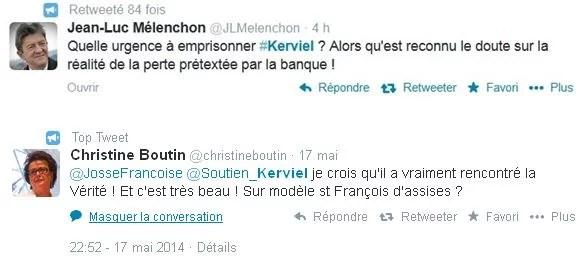 Tweets Kerviel