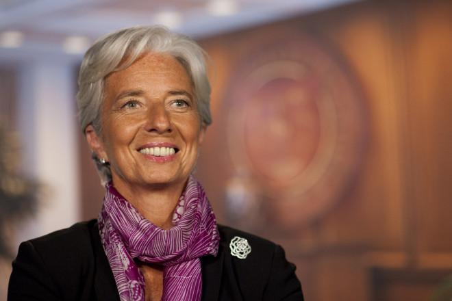 Christine Lagarde (Crédits : IMF, licence Creative Commons)
