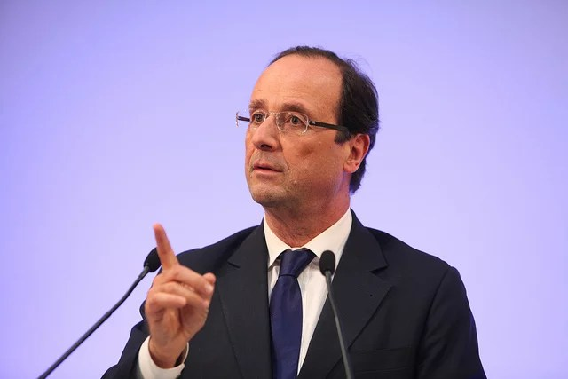 François Hollande en 2011  (Crédits Parti Socialiste licence Creative Commons)