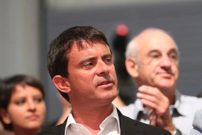 Manuel Valls (Crédits Mathieu Delmestre-PS licence Creative Commons)