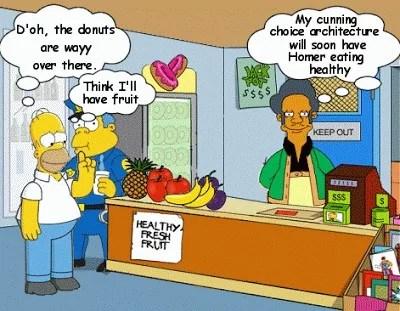Nudge Homer Simpson (Crédits : Mrs Blogs Blogs, tous droits réservés)