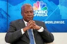 John Dramani Mahama, président du Ghana (Crédits World Economic Forum, licence Creative Commons)