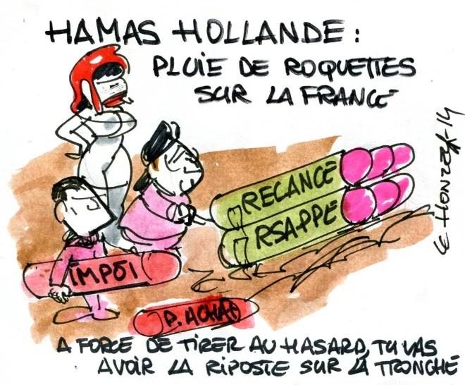 Pluie de roquettes sur la France René Le Honzec