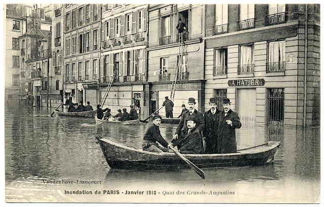 Inondation de Paris - 1910