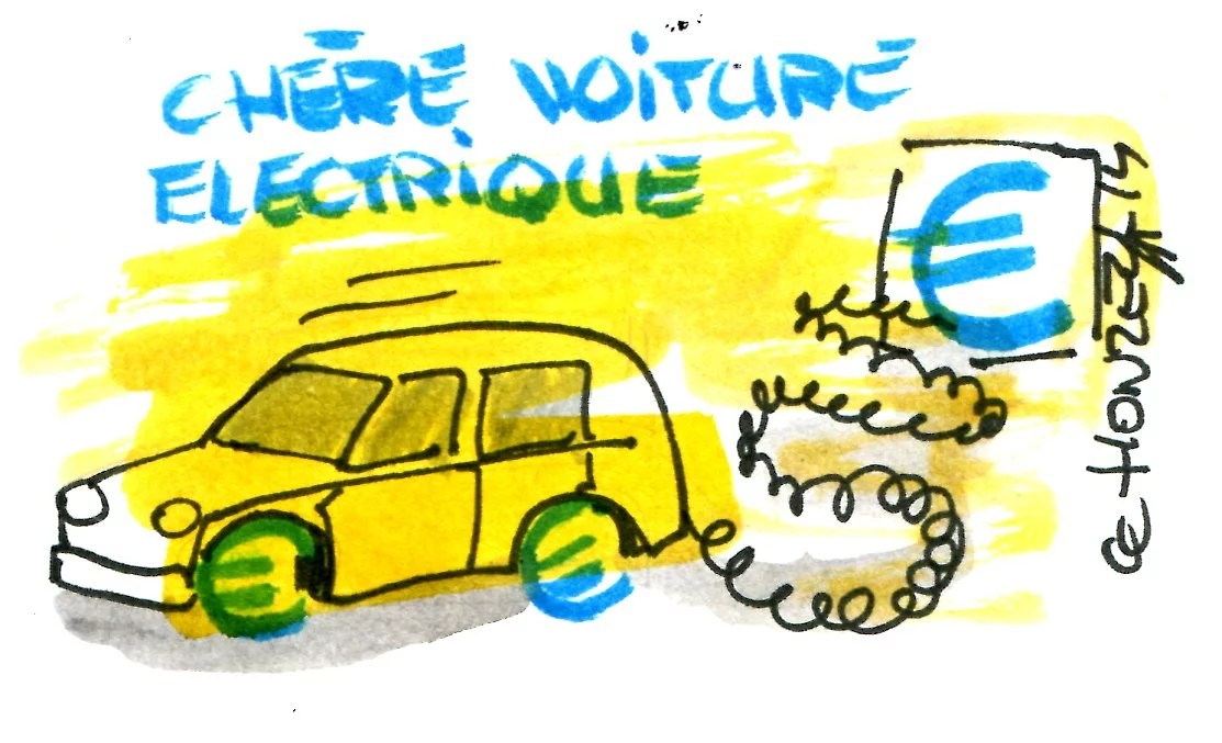La voiture électrique coûte cher en subventions