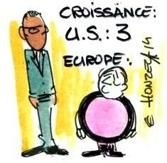 croissance europe usa rené le honzec