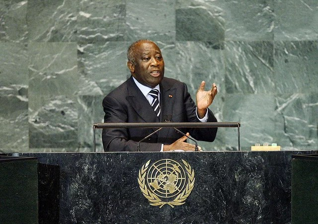 Laurent Gbagbo credits United Nations photos (licence creative commons)