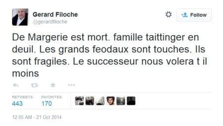 Tweet Filoche Total