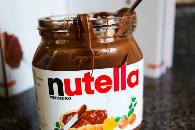 nutella credits awlgray (licence creative commons)