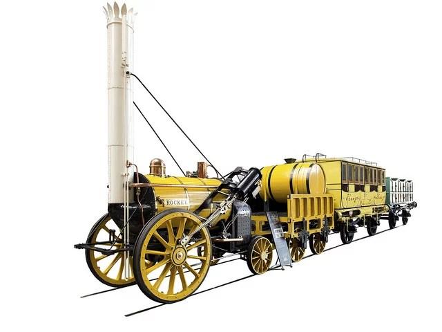rocket train credits raymorris1 (licence creative commons)
