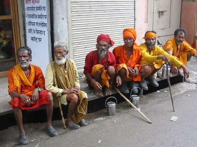Inde pélerins Credit etrenard (Creative Commons)