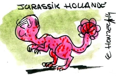 Hollande dinosaure RLH