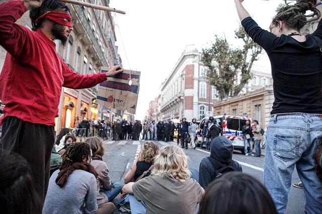 manifestation 1er novembre 2014 Toulouse Credit  Jean-Marc Aspe (Creative Commons CC BY ND)