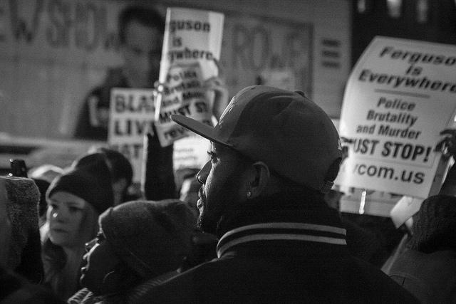 Eric Garner Protest Union Square to Rockefeller Center - Credit Dave Bledsoe (Creative Commons)