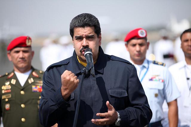 Nicolas Maduro le 4 décembre 2014 (Crédits : Presidencia de la República del Ecuador, licence CC-BY-NC-SA 2.0), via Flickr.