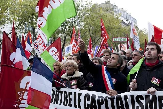 Manifestation contre le capitalisme - Anticapitalisme - Credit Philippe Leroyer (Creative Commons)