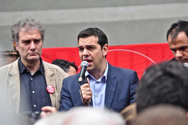 Tsipras credits Daniele Vico (licence creative commons)