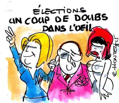 Le Pen Hollande élections Doubs rené le honzec