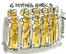 6 mythes grecs rené le honzec