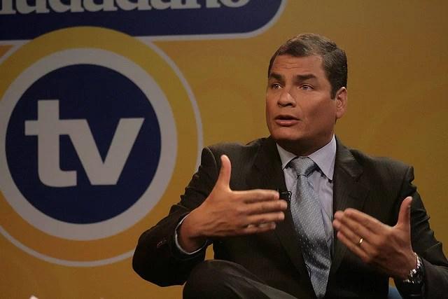 Rafael Correa, Presidente de la República del Ecuador, el ciudadano tv - Credits Presidencia de la República del Ecuador