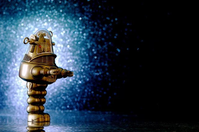 Robby the Robot - Credits JD Hancock (CC BY 2.0)