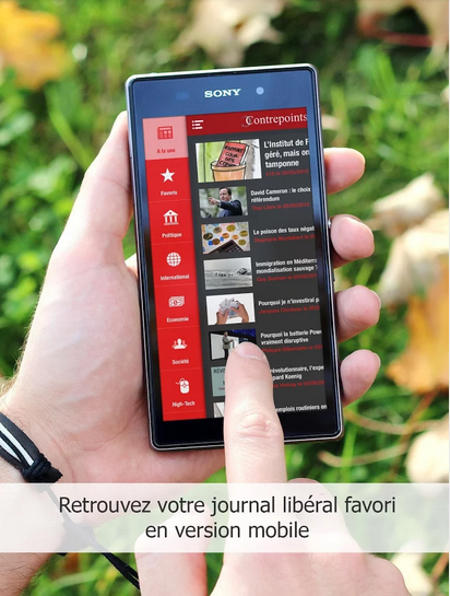 Application Android du journal Contrepoints