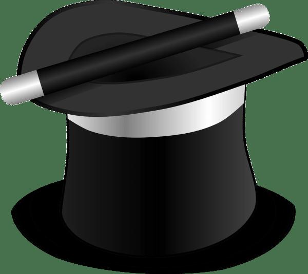 Magic Hat Clip Art