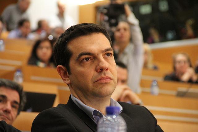 Alexis Tsipras - Crédit : Die Linke via Flickr (CC BY-NC 2.0