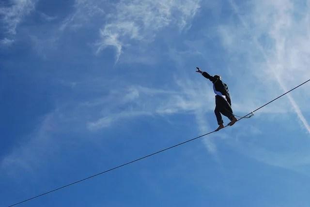 dieuzaide funambule équilibre-François Bazoge (CC BY-NC-ND 2.0)