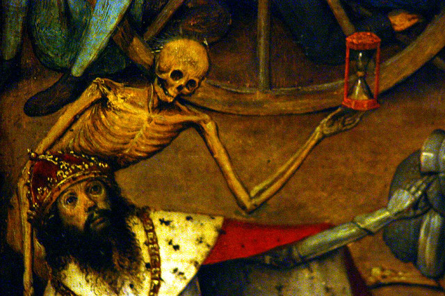Detail from 'The Triumph of Death' (Brueghel the Elder c.1562) credits Hunter333 (CC BY-NC-ND 2.0)