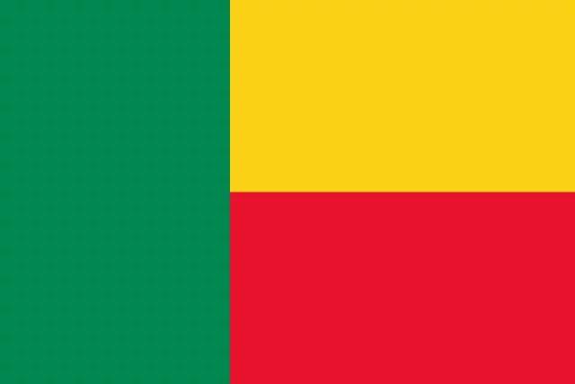 Drapeau du Benin, domaine public