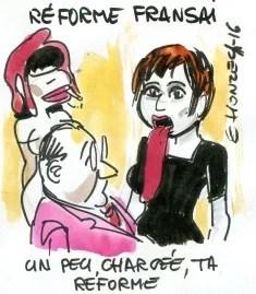réforme du français rené le honzec