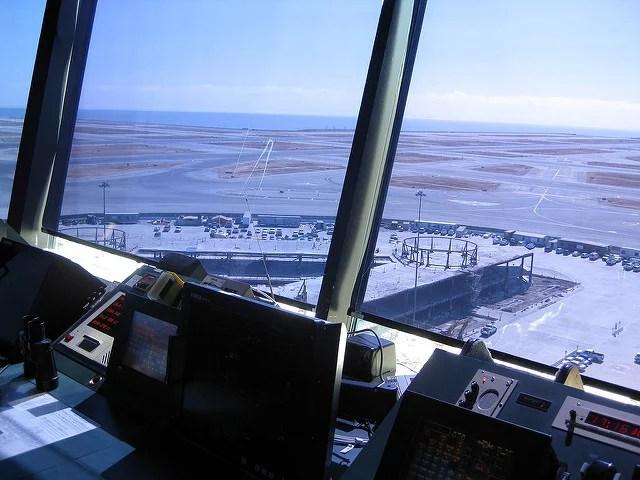 Tour de contrôle aérien à l'aéroport de San Francisco