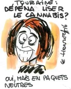 Légalisation du cannabis, l'avis de Marisol Touraine
