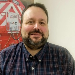 "Locomotive Products Manager Dave is our Locomotive Remote Control Guru. Passionate about his job and always ready to help. If Dave's not ""on the road"" supporting our customers you'll find him working with local youth through the Boy Scouts as a Shooting Sports Director."