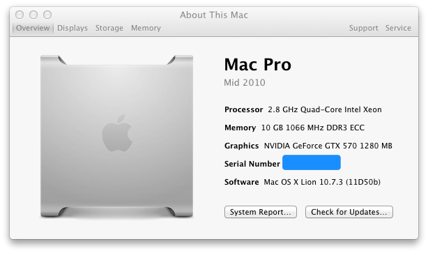 "Install an Nvidia ""Fermi"" Graphics Card in a Mac Pro"
