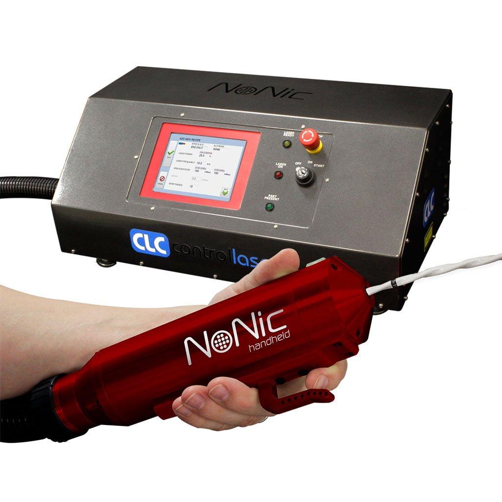 hight resolution of nonic handheld laser wire stripping machine