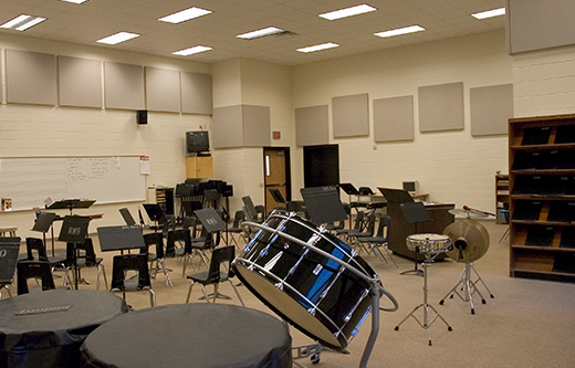 Soundproof Music Room  Soundproofing and Band Room Acoustics