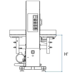 Ocasión Envolvedora Horizontal Compacta 1200