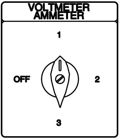 Ammeter Voltmeter Switches Panel Voltmeter Wiring Diagram