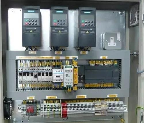 pump starter panel, star delta starter panel, plc electrical panel, vfd starter panel
