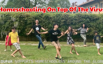Homeschooling: On Top of The Virus