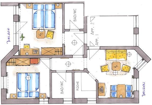 Piantina appartamento 4