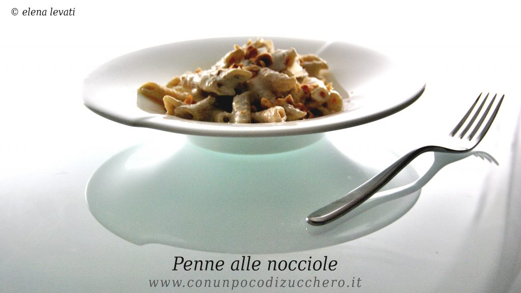 Penne alle nocciole